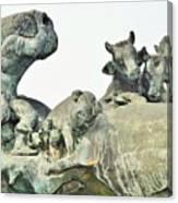 Vilsec Fountain Canvas Print