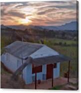 Vinales Sunset Canvas Print