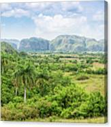 Vinales Valley Canvas Print