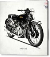 Vincent Hrd Rapide Canvas Print