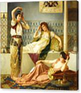 Vincent Stiepevich In The Harem Canvas Print