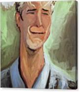 Vincent Van Der Beek Canvas Print