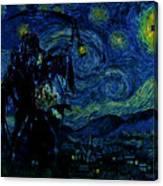 Vincent Van Ghost Xxv Canvas Print