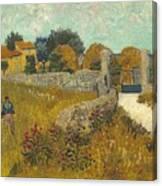 Vincent Van Gogh, Farmhouse In Provence Canvas Print
