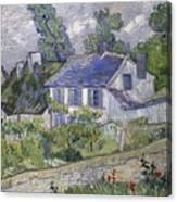 Vincent Van Gogh, Houses At Auvers Canvas Print
