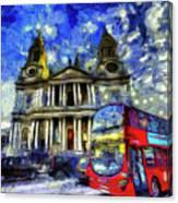 Vincent Van Gogh London Canvas Print