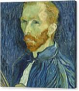 Vincent Van Gogh Self-portrait 1889 Canvas Print