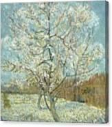 Vincent Van Gogh, The Pink Peach Tree Canvas Print