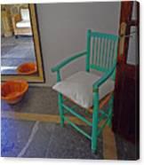 Vincent's Chair Canvas Print