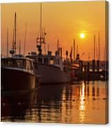 Vineyard Haven Harbor Sunrise II Canvas Print