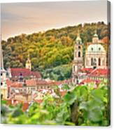 Vineyard Of Prague Canvas Print