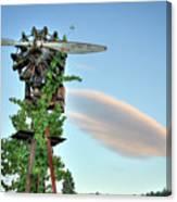 Vineyard Propeller 2 Canvas Print