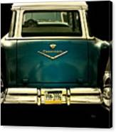 Vintage 1957 Chevy Station Wagon Canvas Print