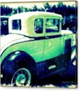 Vintage Automobile Canvas Print