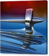 Vintage Buick Hood Ornament Canvas Print