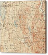 Vintage Burlington Vermont Topographic Map - 1904 Drawing by ...
