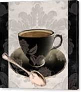 Vintage Cafe IIi Canvas Print