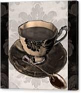 Vintage Cafe Iv Canvas Print