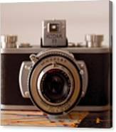 Vintage Camera C10i Canvas Print