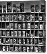 Vintage Camera Matrix Canvas Print