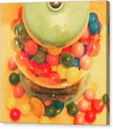 Vintage Candy Machine Canvas Print