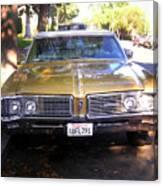 Vintage Car. Front View Canvas Print