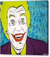 Vintage Cesar Romero's Joker Canvas Print