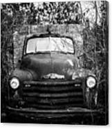 Vintage Chevy Farm Truck Canvas Print