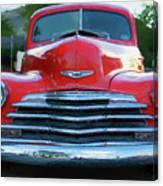 Vintage Chevy Pickup Truck Canvas Print