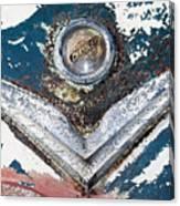 Vintage Chrysler Emblem Canvas Print