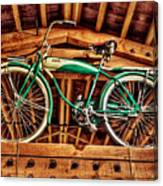 Vintage Cicycle Canvas Print