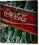 Vintage Coca Cola 1 Canvas Print