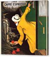 Vintage Coffee Advert - Circa 1920's Canvas Print