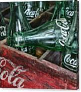 Vintage Coke Square Format Canvas Print