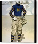 Vintage College Football Annapolis Canvas Print