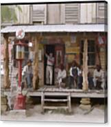 Vintage Country Store Usa - Circa 1939 Canvas Print