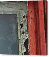 Vintage Crackle Canvas Print