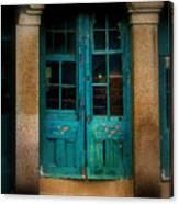 Vintage Doors Canvas Print