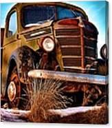 Vintage Farm Truck Canvas Print