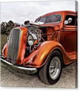 Vintage Ford Truck Rod Canvas Print