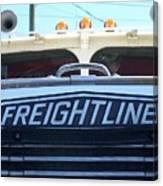 Vintage Freightliner  Canvas Print