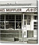 Vintage Gas Station Canvas Print