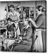 Vintage Hair Dresser Canvas Print