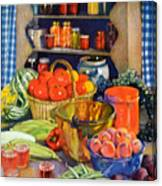 Vintage Harvest Canvas Print