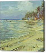 Vintage Hawaiian Art Canvas Print