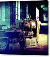 Vintage Industrial Blueprint Canvas Print
