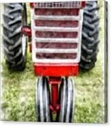 Vintage International Harvester Tractor Canvas Print
