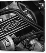 Vintage Jaguar Engine Canvas Print