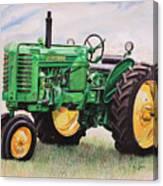 Vintage John Deere Tractor Canvas Print