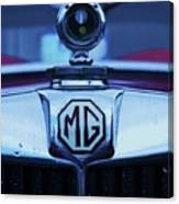 Vintage M G Emblem Canvas Print